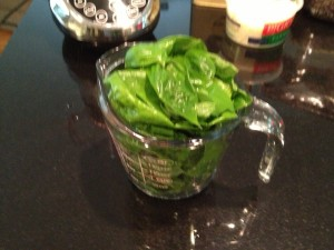 2 cups packed Basil