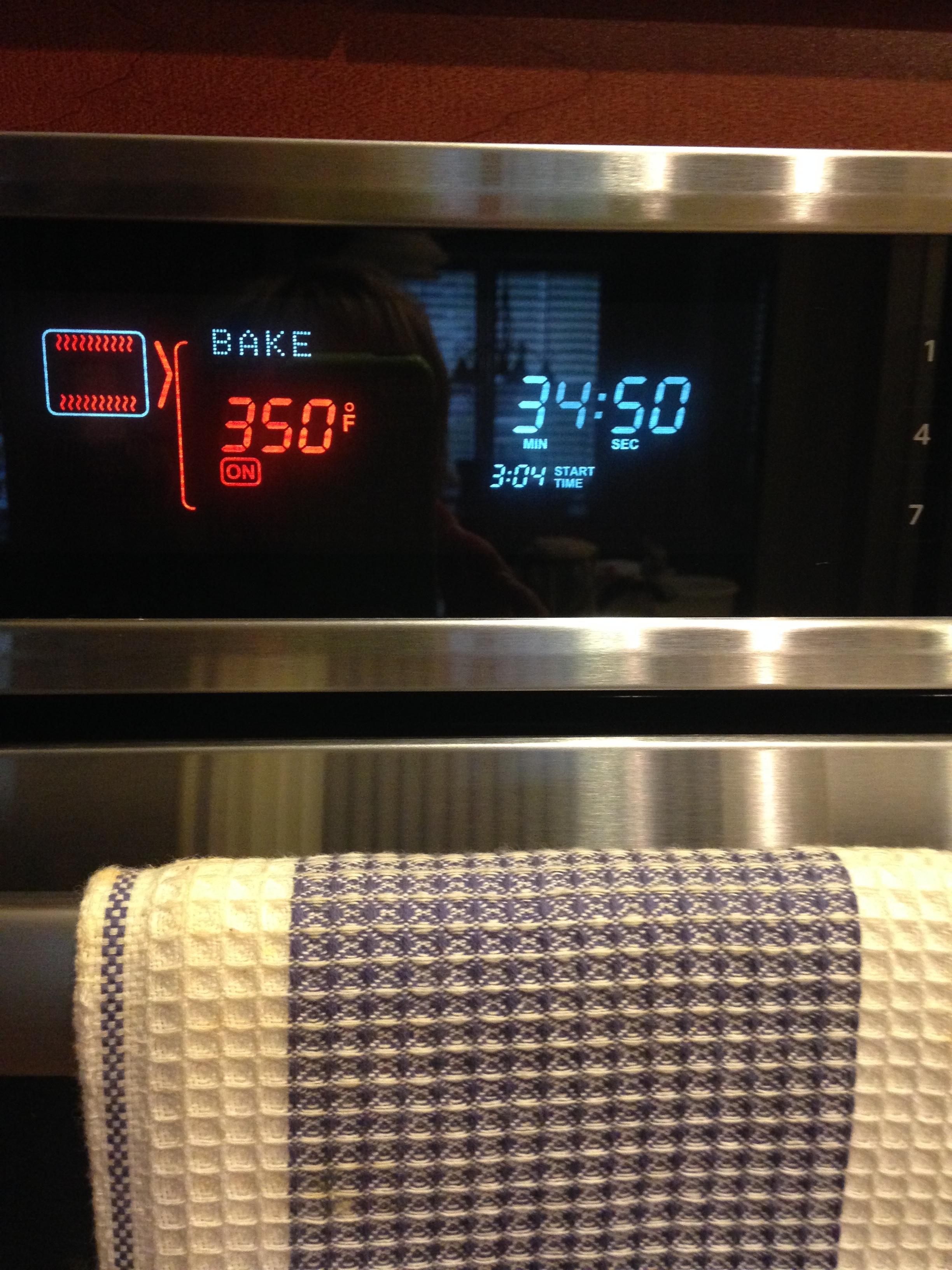 Bake at 350 degrees