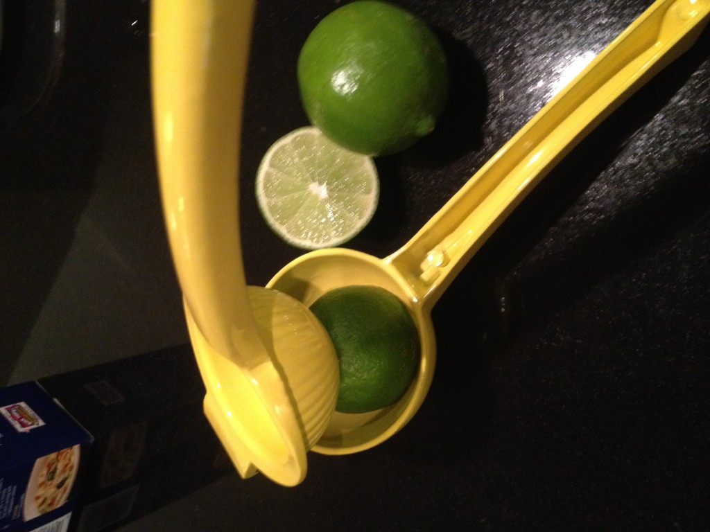 Juicing lime