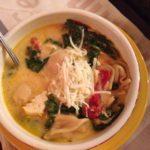 Chicken Tortellini Florentine Soup